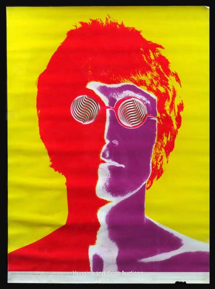 Vintage 1960s 70s Rock Music Posters With Hendrix Beatles